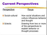 current perspectives3