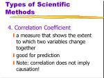 types of scientific methods4