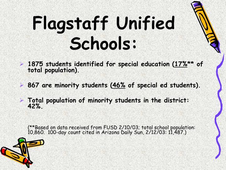 Flagstaff Unified Schools:
