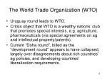 the world trade organization wto