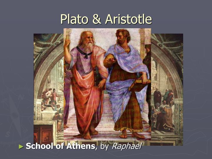Plato aristotle1