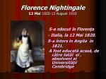 florence nightingale 12 mai 1820 13 august 19101