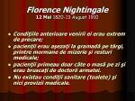 florence nightingale 12 mai 1820 13 august 191010