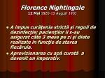 florence nightingale 12 mai 1820 13 august 191011
