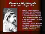 florence nightingale 12 mai 1820 13 august 191012