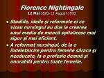 florence nightingale 12 mai 1820 13 august 191017