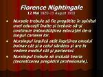 florence nightingale 12 mai 1820 13 august 191019