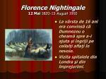 florence nightingale 12 mai 1820 13 august 19102