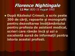 florence nightingale 12 mai 1820 13 august 191020