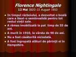 florence nightingale 12 mai 1820 13 august 191022