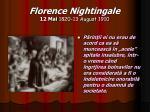 florence nightingale 12 mai 1820 13 august 19104