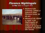 florence nightingale 12 mai 1820 13 august 19107
