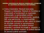 ordinul asisten ilor medicali generali ti moa elor i asisten ilor medicali din rom nia
