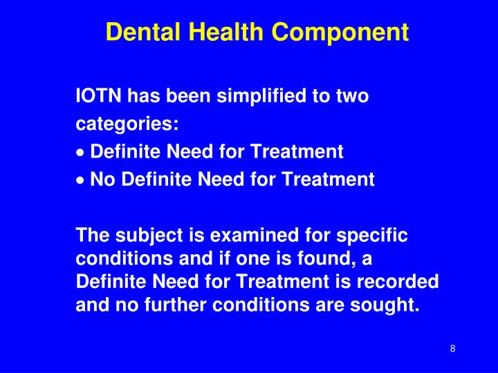 index of orthodontic treatment need thesis Studies to measure seekers and nonseekers of orthodontic treatment are  of an  african american normed index of treatment need in: masters thesis.