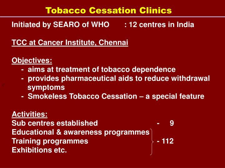 Tobacco Cessation Clinics