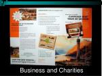 business and charities