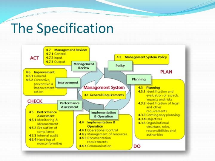 The Specification