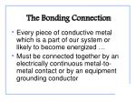 the bonding connection1