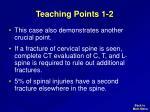 teaching points 1 2