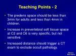teaching points 2
