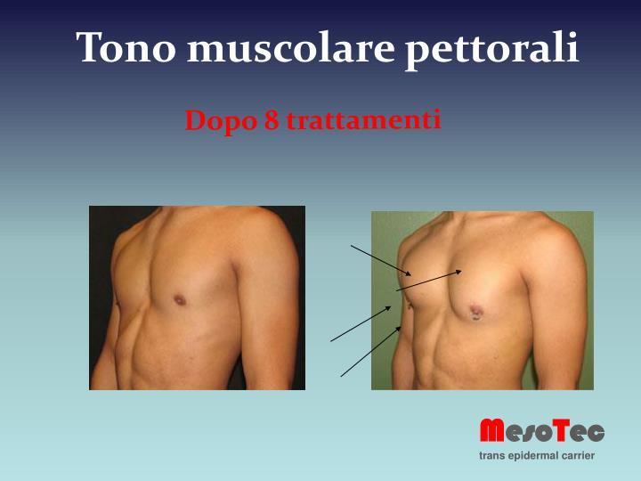 Tono muscolare pettorali
