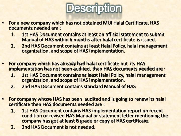 Ppt Indonesian Halal Certification And Halal Assurance System