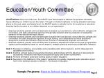 education youth committee