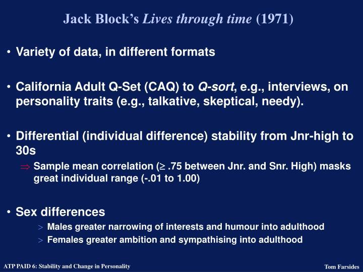 Jack Block's