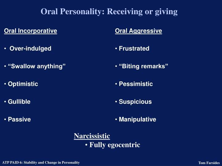 Oral Incorporative
