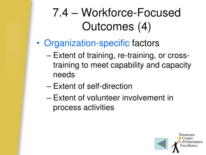 7.4 – Workforce-Focused Outcomes (4)