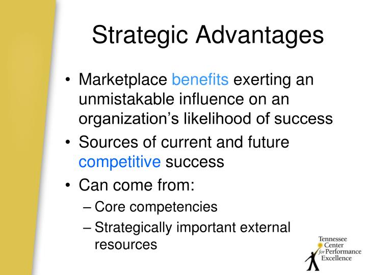 Strategic Advantages