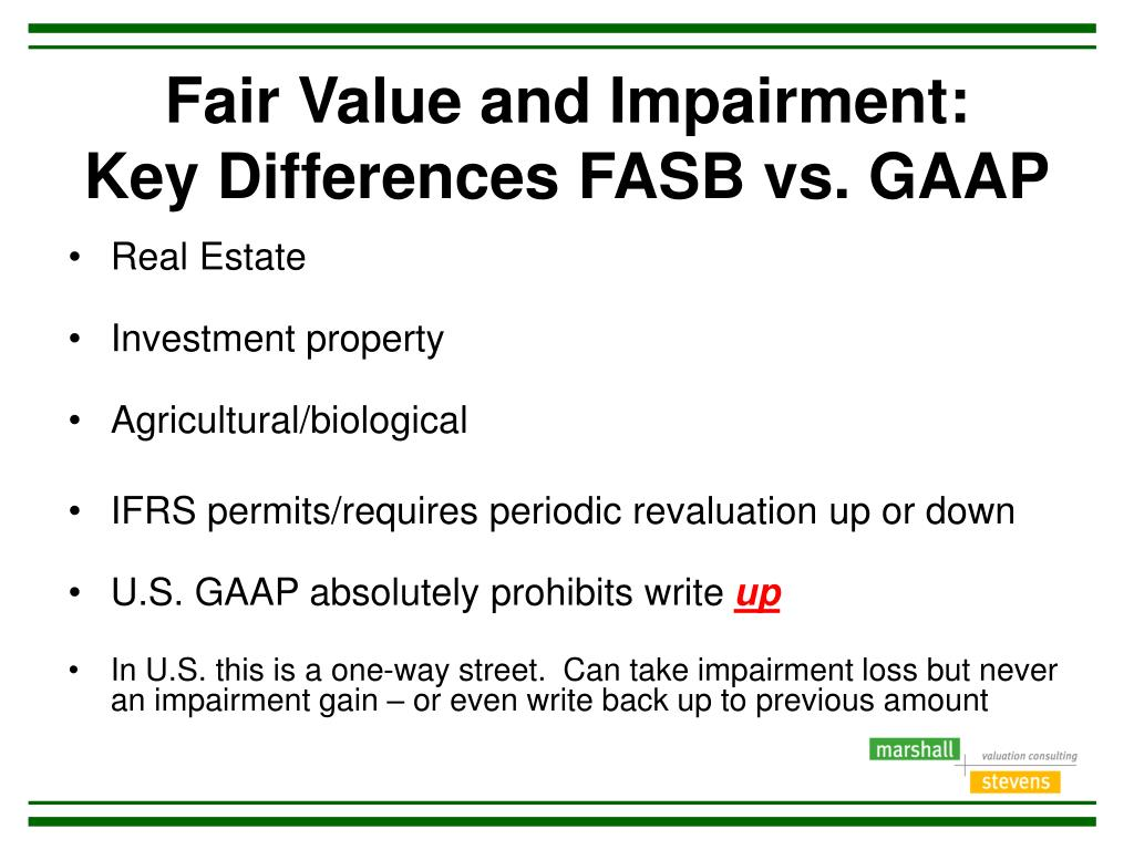 Fair value of investments ifrs vs gaap meeder investment management glassdoor review