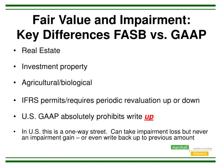 differences between gaap and gaap There are also some significant differences between the us gaap and ifrs with respect to the arena of financial liabilities and equity instruments that were regarded.