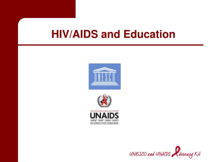 hiv aids and education n.