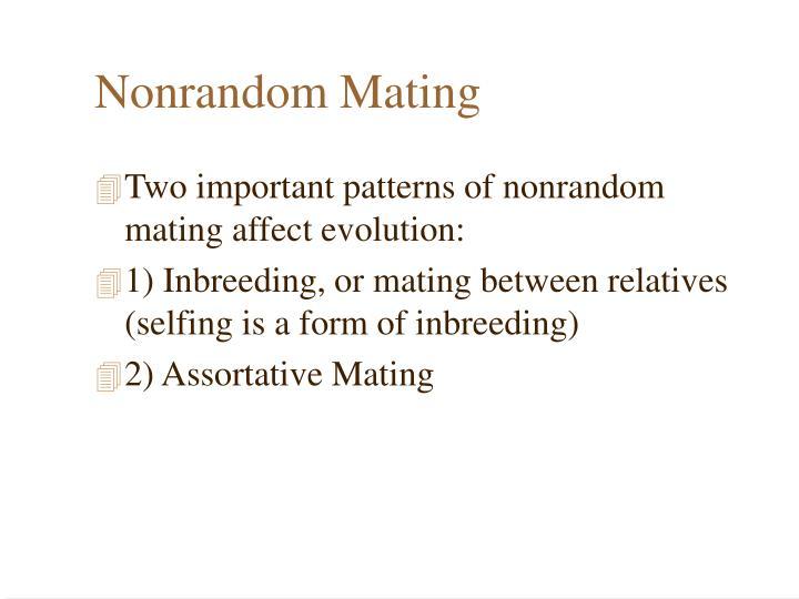 Nonrandom Mating