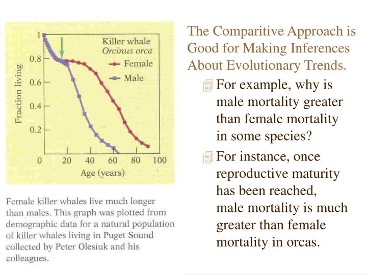 The Comparitive Approach is Good for Making Inferences About Evolutionary Trends.