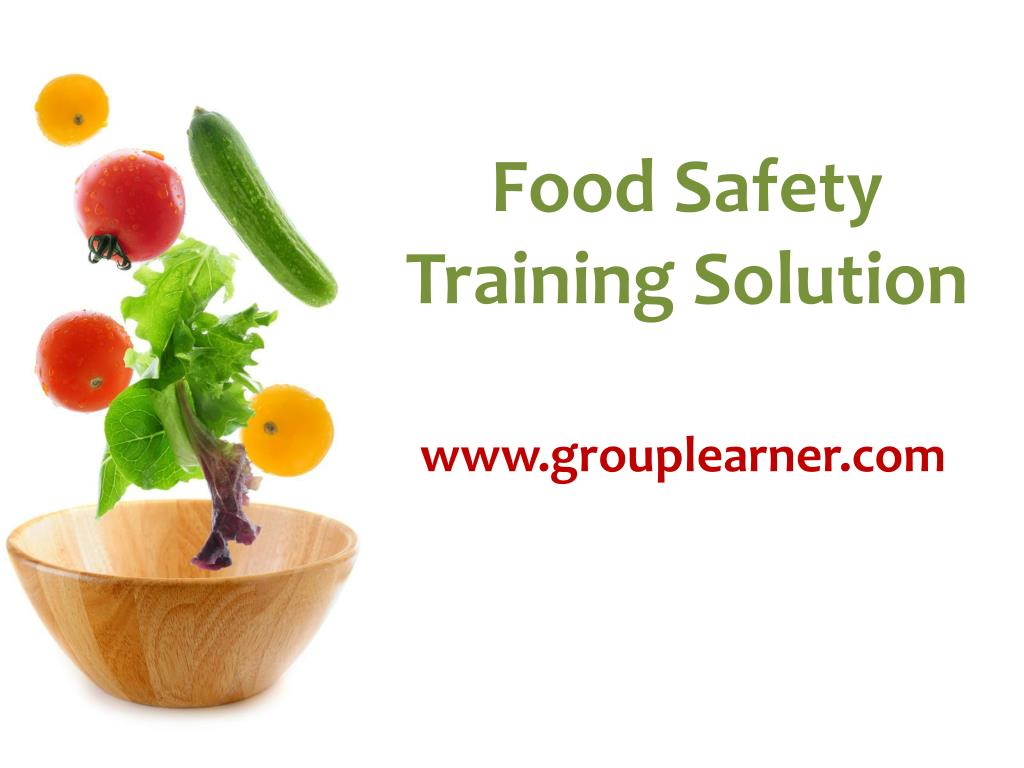food safety training solution l.