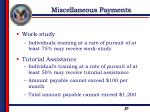 miscellaneous payments2