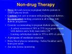 non drug therapy