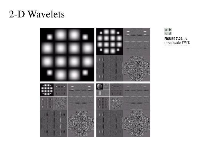 2-D Wavelets