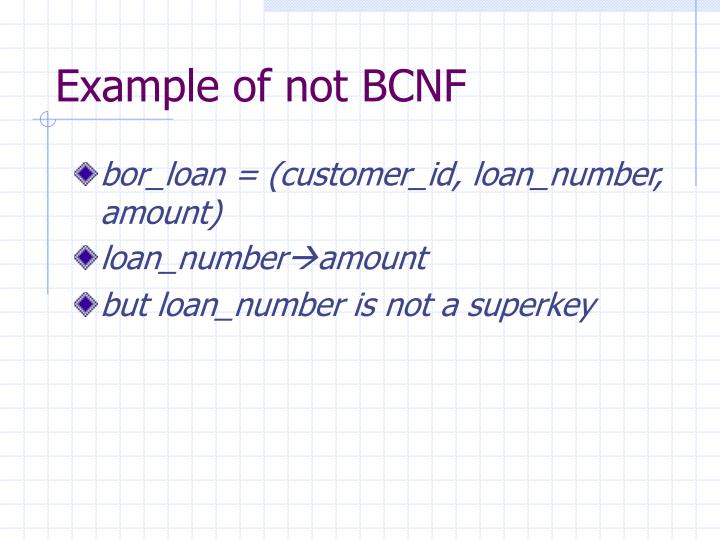 PPT - Boyce-Codd Normal Form PowerPoint Presentation - ID:1273122