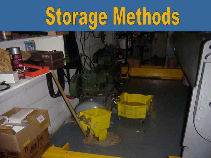 Storage Methods