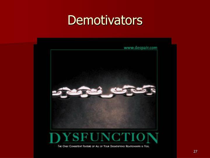 Demotivators