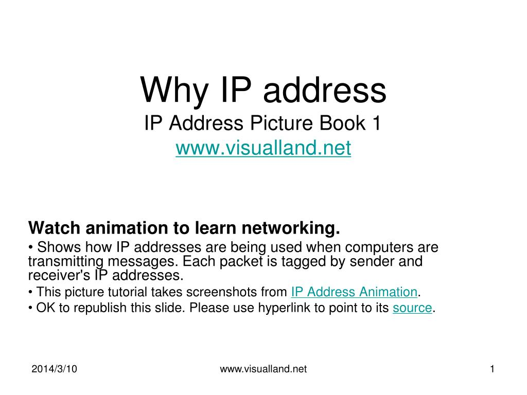 why ip address ip address picture book 1 www visualland net l.