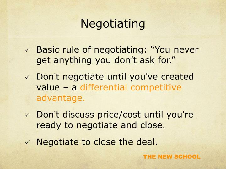 Negotiating1