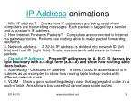 ip address animations