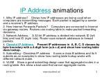 ip address animations