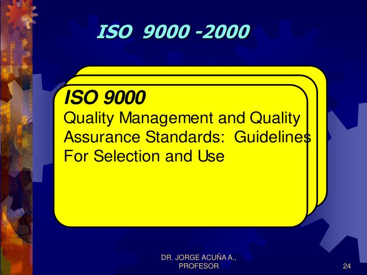 ISO  9000 -2000