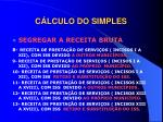 c lculo do simples3