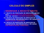 c lculo do simples5